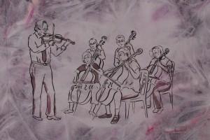 Violinist Mannberg
