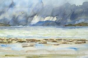 Storm över fjorden